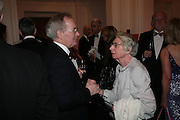 Michael Godbee and Edna Weiss, The Royal Academy Schools dinner and auction. Royal Academy. London. 27 March 2007.  -DO NOT ARCHIVE-© Copyright Photograph by Dafydd Jones. 248 Clapham Rd. London SW9 0PZ. Tel 0207 820 0771. www.dafjones.com.