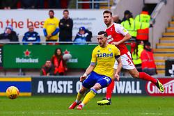 Jack Harrison of Leeds United makes the pass - Mandatory by-line: Ryan Crockett/JMP - 26/01/2019 - FOOTBALL - Aesseal New York Stadium - Rotherham, England - Rotherham United v Leeds United - Sky Bet Championship