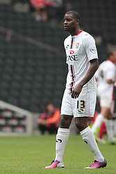Milton Keynes Dons' Izale McLeod  - Photo mandatory by-line: Nigel Pitts-Drake/JMP - Tel: Mobile: 07966 386802 24/08/2013 - SPORT - FOOTBALL - Stadium MK - Milton Keynes - Milton Keynes Dons V Bristol City - Sky Bet League One