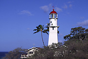 Diamond Head Lighthouse, Waikiki, Oahu, Hawaii<br />