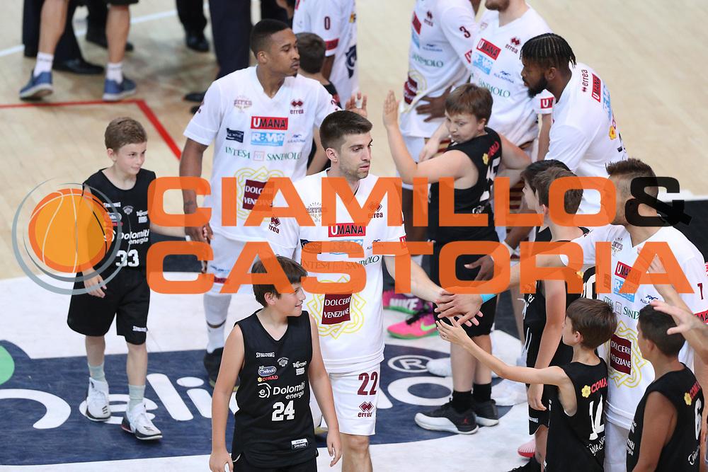 Bramos Michael, Dolomiti Energia Trentino vs Umana Reyer Venezia LBA Serie A Playoff Finale gara 3 stagione 2016/2017 Pala Trento, Trento 14 giugno 2017