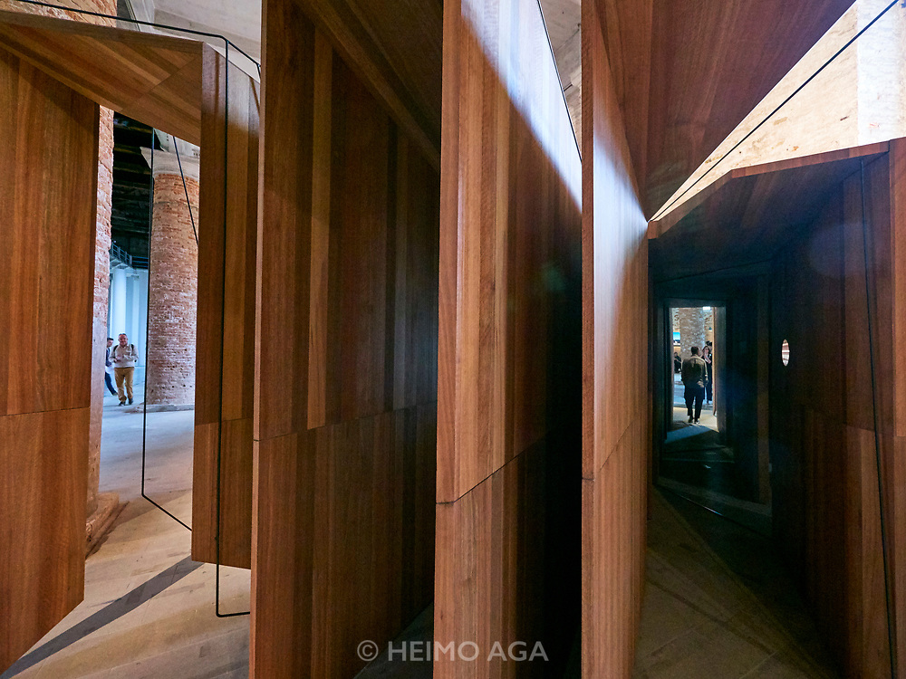"FREESPACE - 16th Venice Architecture Biennale. Arsenale. John Wardle Architects, ""Somewhere Other""."