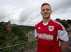 Ryan Taylor of Bristol City - Photo mandatory by-line: Kieran McManus/JMP - Tel: Mobile: 07966 386802 31/07/2013 - SPORT - FOOTBALL - Avon Gorge Hotel - Clifton Suspension bridge - Bristol -  Team Photo