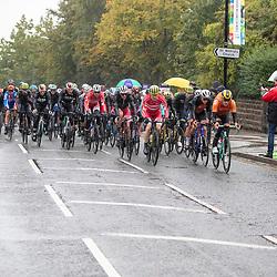 28-09-2019: WK wielrennen: Weg Elite: Yorkshire<br />Wet conditions at the World Championships Cycling in Harrogate. right side Jos van Emden, Niki Terpstra