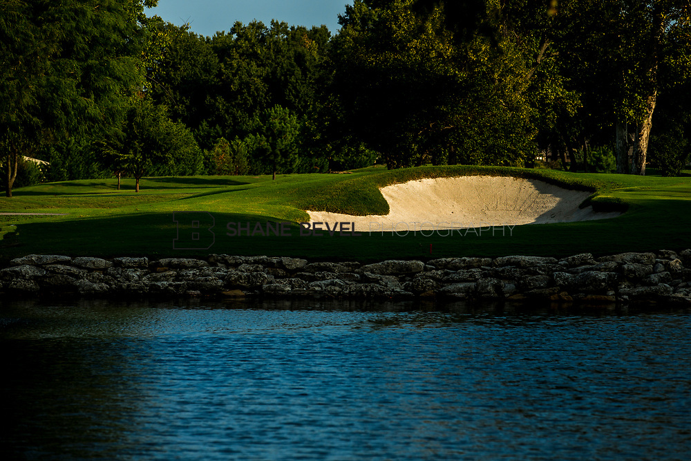 9/25/17 8:56:55 AM -- Bunkers and greens on Cedar Ridge Country Club for Jonesplan. <br /> <br /> Photo by Shane Bevel