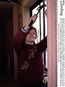 Female apprentice carpenter & joiner, council direct works dept.