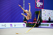 Carmen Whelan from Canada began gymnastics at age six. She is a very beautiful and elegant gymnast