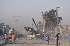 Afghanistan:  Blast site of German consulate, 11 Nov. 2016
