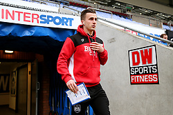 Joe Bryan of Bristol City arrives at the DW Stadium - Mandatory by-line: Matt McNulty/JMP - 11/03/2017 - FOOTBALL - DW Stadium - Wigan, England - Wigan Athletic v Bristol City - Sky Bet Championship