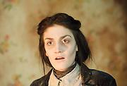 Cross Purpose <br /> by Albert Camus <br /> at The King's Head Theatre, London, Great Britain <br /> 9th January 2013 <br /> Press photocall<br /> <br /> Jaime Birkett as Martha<br /> Paddy Navin as Mother <br /> David Lomax as Jan<br /> Leonard Fenton as manservant <br /> Photograph by Elliott Franks