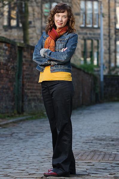 Portrait of Canadian author, Sheri Benning