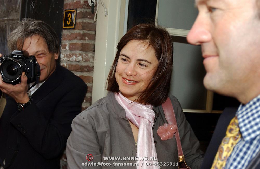 Mattheus Passion 2005, partner Hans Hoogervorst Marisa Polin