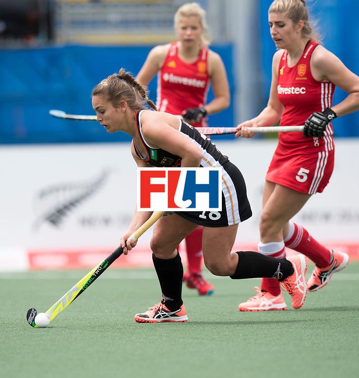 AUCKLAND - Sentinel Hockey World League final women<br /> Match id 10293<br /> 03 England v Germany <br /> Foto: Lisa Altenburg(C) .<br /> WORLDSPORTPICS COPYRIGHT FRANK UIJLENBROEK