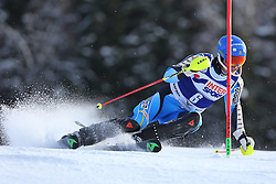 06.01.2014, Stelvio, Bormio, ITA, FIS Weltcup Ski Alpin, Bormio, Slalom, Herren, im Bild Andre Myhrer // Andre Myhrer  in action during mens Slalom of the Bormio FIS Ski World Cup at the Stelvio in Bormio, Italy on 2014/01/06. EXPA Pictures © 2014, PhotoCredit: EXPA/ Sammy Minkoff<br /> <br /> *****ATTENTION - OUT of GER*****