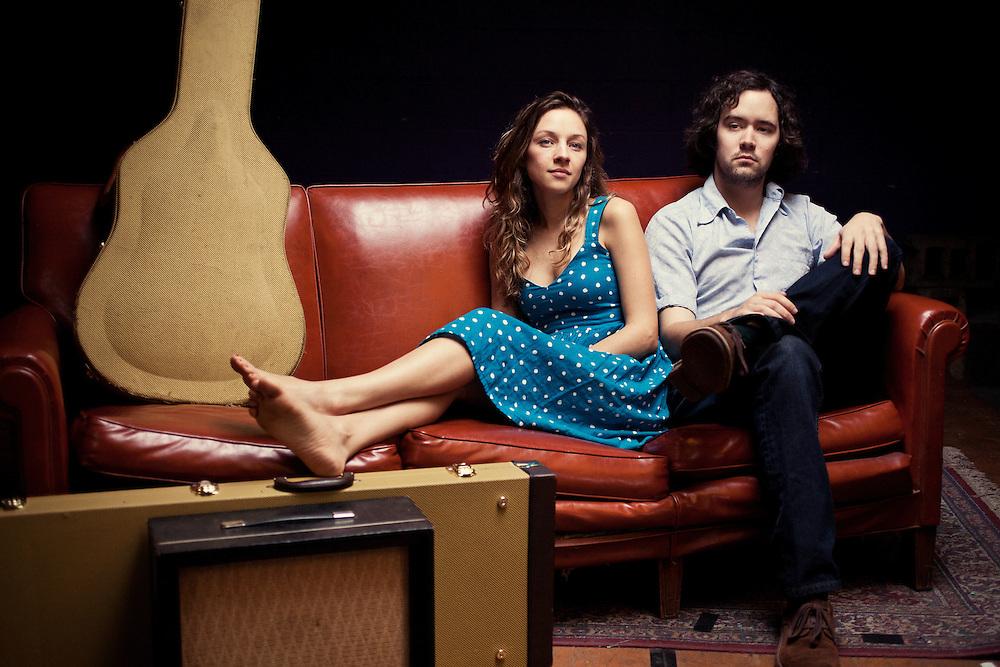 Mandolin Orage: Emily Frantz and Andrew Marlin, Chapel Hill, North Carolina, February 2012. ..