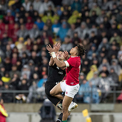 Anthony Watson  during game 9 of the British and Irish Lions 2017 Tour of New Zealand, the second Test match between  The All Blacks and British and Irish Lions, Westpac Stadium, Wellington, Saturday 1st July 2017<br /> (Photo by Kevin Booth Steve Haag Sports)<br /> <br /> Images for social media must have consent from Steve Haag