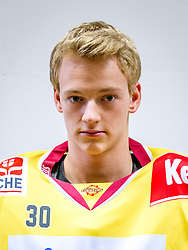 21.08.2013, Albert Schultz Halle, Wien, AUT, EBEL, Spielerportraits UPC Vienna Capitals, im Bild David Kickert , (UPC Vienna Capitals, #30)// during UPC Vienna Capitals Player Portrait Session at the Albert Schultz Halle, Wien, Austria on 2013/08/21. EXPA Pictures © 2013, PhotoCredit: EXPA/ Sebastian Pucher