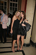 NATASHA PRINCE AND EMMA FOLL, Mac Viva Glam party to celebrate the M.A.C. Aids Fund. the Bloomsbury Ballroom. Victoria House. London. 27 June 2007.  -DO NOT ARCHIVE-© Copyright Photograph by Dafydd Jones. 248 Clapham Rd. London SW9 0PZ. Tel 0207 820 0771. www.dafjones.com.