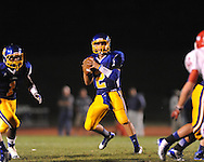 Oxford High's Jack Abraham (2) vs. Jackson Prep in Oxford, Miss. on Friday, August 23, 2013. Oxford won 32-20.