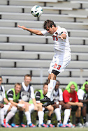 02 September 2012: NC State's Jorge Risquez (VEN). The North Carolina State University Wolfpack defeated the Santa Clara University Broncos 2-1 at Koskinen Stadium in Durham, North Carolina in a 2012 NCAA Division I Men's Soccer game.