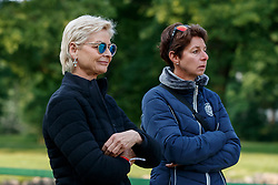 LINSENHOFF Ann Kathrin, THEODORESCU Monica (Bundestrainer Dressur)<br /> Wiesbaden - 82. PfingstTurnier 2018<br /> Prix St Georges<br /> 18. Mai 2018<br /> www.sportfotos-lafrentz.de/Stefan Lafrentz