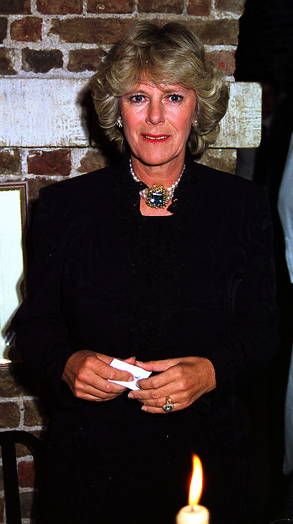 MRS CAMILLA PARKER BOWLES at a gala evening in London on 6th October 1999.MXH 15