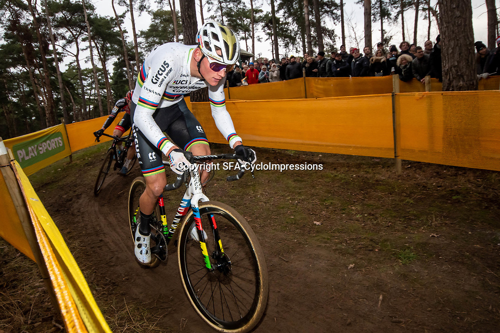 26-12-2019: Cycling: CX Worldcup: Heusden-Zolder: Mathieu van der Poel pictured in action in  Heusden Zolder