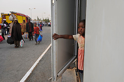 Migrants arrive in Tamanrasset, Algeria, June 30, 2018, completing their trip from Algiers. Nigerian illegal migrants (majority of women and children) who lived in Algeria by begging, according to the Algerian authorities, will be returned to their country once the administrative arrangements are completed. Photo by Louiza Ammi/ABACAPRESS.COM
