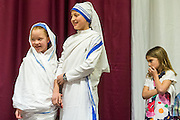 DENVER, CO - DECEMBER 27: Archbishop Samuel J. Aquila celebrates Mass for the Missionaries of Charity on January 27, 2015, in Denver, Colorado. The sisters are celebrating 25 years of service in Denver. (Photo by Daniel Petty/for the Missionaries of Charity)