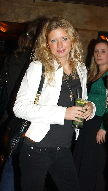 LAINEY SHERIDAN-YOUNG at a party to launch Riggid - T-shirt Couture held at Momo's Kemia Bar, 25 Heddon Street, London W1 on 18th November 2004.<br />