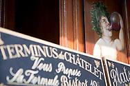 Le terminus du Châtelet, bistrot de Robert Suscheyre où Doisneau venait se restaurer