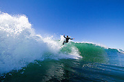 Surfing Newport Beach California