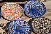 colourful plates, Carthage, Tunis, Tunisia