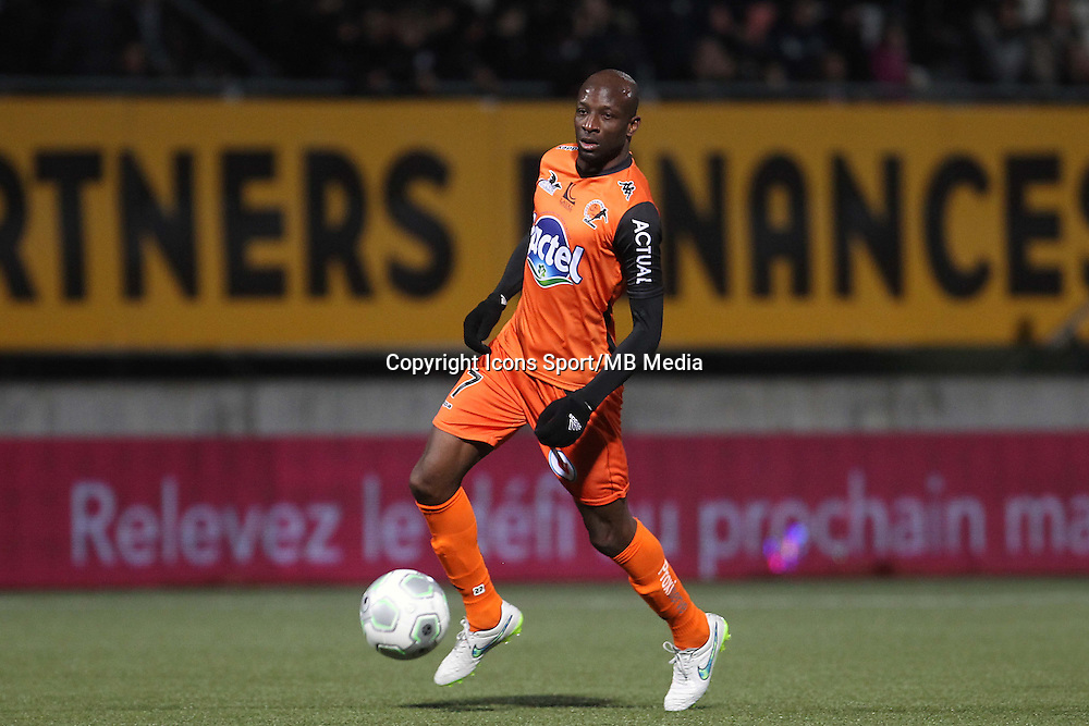 Djibril KONATE  - 06.03.2015 - Nancy / Laval - 27eme journee de Ligue 2 <br />
