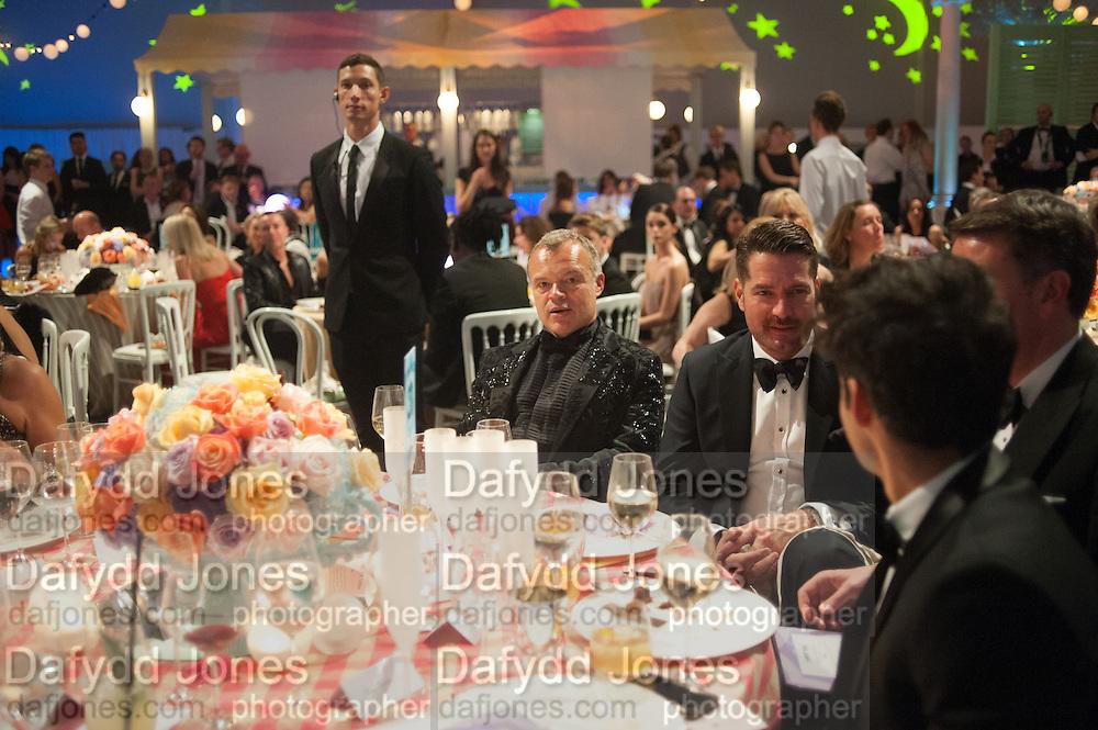 GRAHAM NORTON, Grey Goose Winter Ball to benefit the Elton John Aids Foundation. Battersea Power Station. London. 10 November 2012.