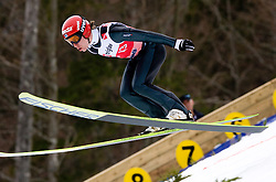 Kalle Keituri of Finland competes during Flying Hill Individual Qualifications at 1st day of FIS Ski Flying World Championships Planica 2010, on March 18, 2010, Planica, Slovenia.  (Photo by Vid Ponikvar / Sportida)
