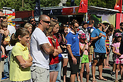 Fans watch juggling exhibition - Women's World Cup Fans as the tournament comes to Vancouver<br /> <br />  - &copy; David Young - www.davidyoungphoto.co.uk - email: davidyoungphoto@gmail.com