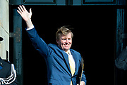 Zijne Majesteit Koning Willem-Alexander en Hare Majesteit Koningin Máxima ontvangen het Corps Diplomatique voor het jaarlijkse galadiner in het Koninklijk Paleis Amsterdam.<br /> <br /> His Majesty King Willem-Alexander and Her Majesty Queen Máxima receive the Diplomatic Diploma for the annual gala dinner at the Royal Palace Amsterdam.<br /> <br /> Op de foto / On the photo:  Koning Willem Alexander / King Willem Alexander