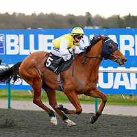 Seek The Fair Land and Nathan Alison winning the 3.00 race