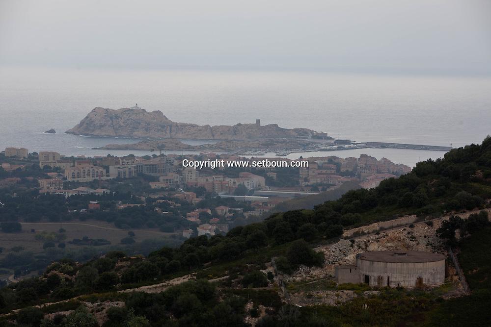 Corsica. France. Ile rousse city, Corsica North, France /  l ile Rousse, Corse du Nord
