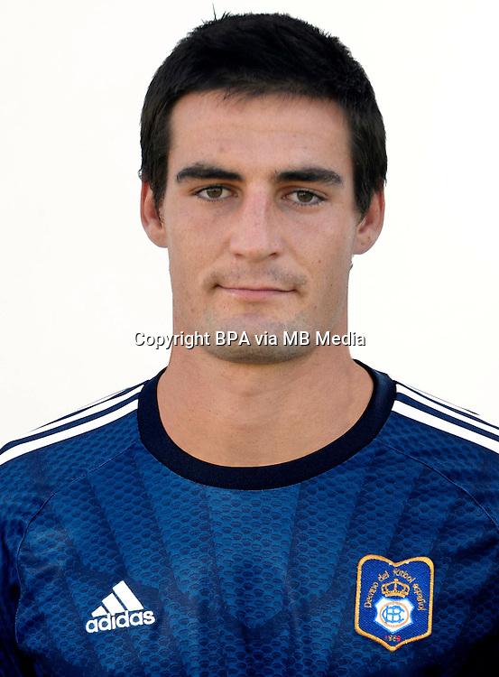 Spain - La Liga Adelante 2014-2015 / <br /> ( Real Club Recreativo de Huelva ) - <br /> Daniel Sotres Castaneda &quot; Dani Sotres &quot;