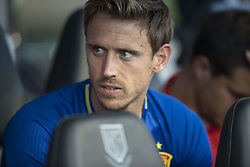 October 6, 2017 - Alicante, Spain - Monreal (Chelsea) during the qualifying match for the World Cup Russia 2018 between Spain and Albaniaat the Jose Rico Perez stadium in Alicante, Spain on October 6, 2017. (Credit Image: © Jose Breton/NurPhoto via ZUMA Press)
