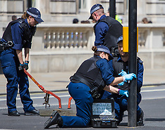 2017-05-24 Tight security as UN peacekeepers remembered at Whitehall wreath-laying ceremony