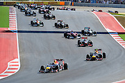 Nov 15-18, 2012: Race start, USGP..© Jamey Price/XPB.cc