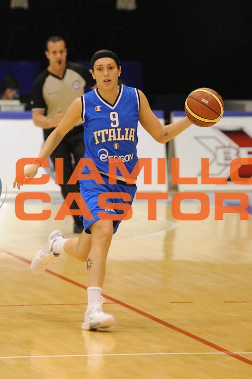 DESCRIZIONE : Pomezia Nazionale Italia Donne Torneo Citt&agrave; di Pomezia Italia Olanda<br /> GIOCATORE : ilaria zanoni<br /> CATEGORIA : palleggio<br /> SQUADRA : Italia Nazionale Donne Femminile<br /> EVENTO : Torneo Citt&agrave; di Pomezia<br /> GARA : Italia Olanda<br /> DATA : 26/05/2012 <br /> SPORT : Pallacanestro<br /> AUTORE : Agenzia Ciamillo-Castoria/GiulioCiamillo<br /> Galleria : FIP Nazionali 2012<br /> Fotonotizia : Pomezia Nazionale Italia Donne Torneo Citt&agrave; di Pomezia Italia Olanda