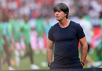 FUSSBALL  INTERNATIONAL TESTSPIEL  IN LEVERKUSEN Deutschland -  Saudi-Arabien              08.06.2018 Trainer Joachim Loew (Deutschland)
