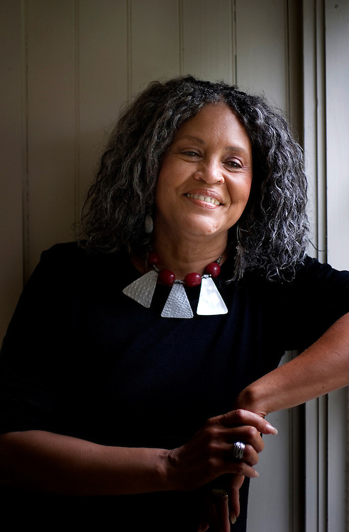 "(Oak Bluff, MA - July 20, 2006) - Charlayne Hunter-Gualt, former journalist for PBS and CNN bureau chief for South Africa, at her home on Martha's Vineyard, Massachusetts.   Hunter-Gault continues as an independent journalists based in South Africa, and has a new book titled ""New News Out of Africa: Uncovering Africa's Renaissance."".Photo Justin Ide/MoonDance Images"