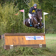 Waylon Roberts (CAN) and Bill Owen at The Dutta Corp Fair Hill International Horse Trials in Elkton, Maryland.