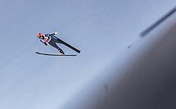 02.03.2019, Seefeld, AUT, FIS Weltmeisterschaften Ski Nordisch, Seefeld 2019, Skisprung, Mixed Team Bewerb, im Bild Eva Pinkelnig (AUT) // Eva Pinkelnig of Austria during the mixed team competition in ski jumping of nordic combination of FIS Nordic Ski World Championships 2019. Seefeld, Austria on 2019/03/02. EXPA Pictures © 2019, PhotoCredit: EXPA/ Stefanie Oberhauser