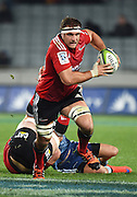 Luke Whitelock in action during the Super Rugby match between The Blues and Crusaders at Eden Park in Auckland, New Zealand. Saturday 6 June 2015. Copyright Photo: Andrew Cornaga / www.Photosport.co.nz
